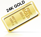 24k gold purity